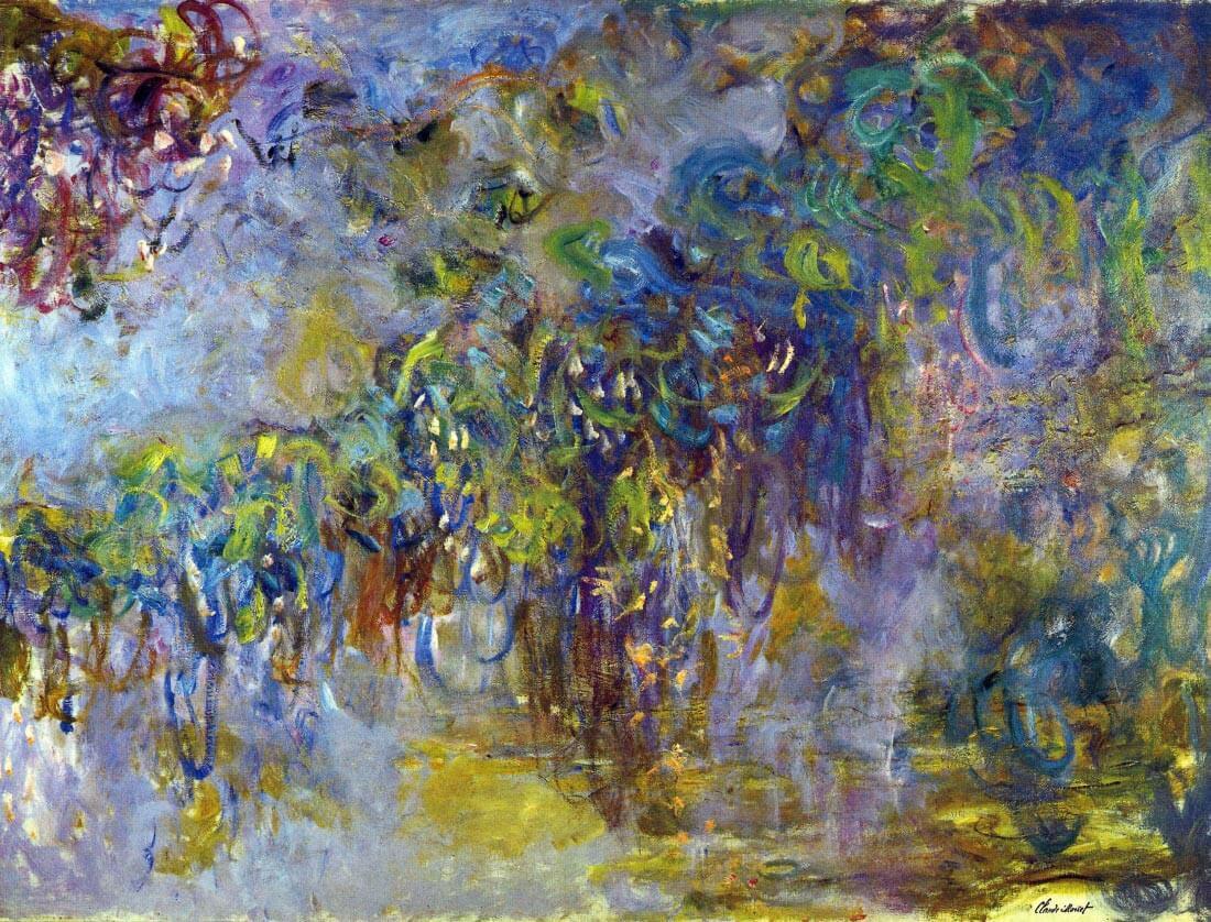 Wisteria [2] - Monet
